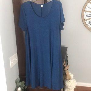Old Navy plush knit swing dress. Large.
